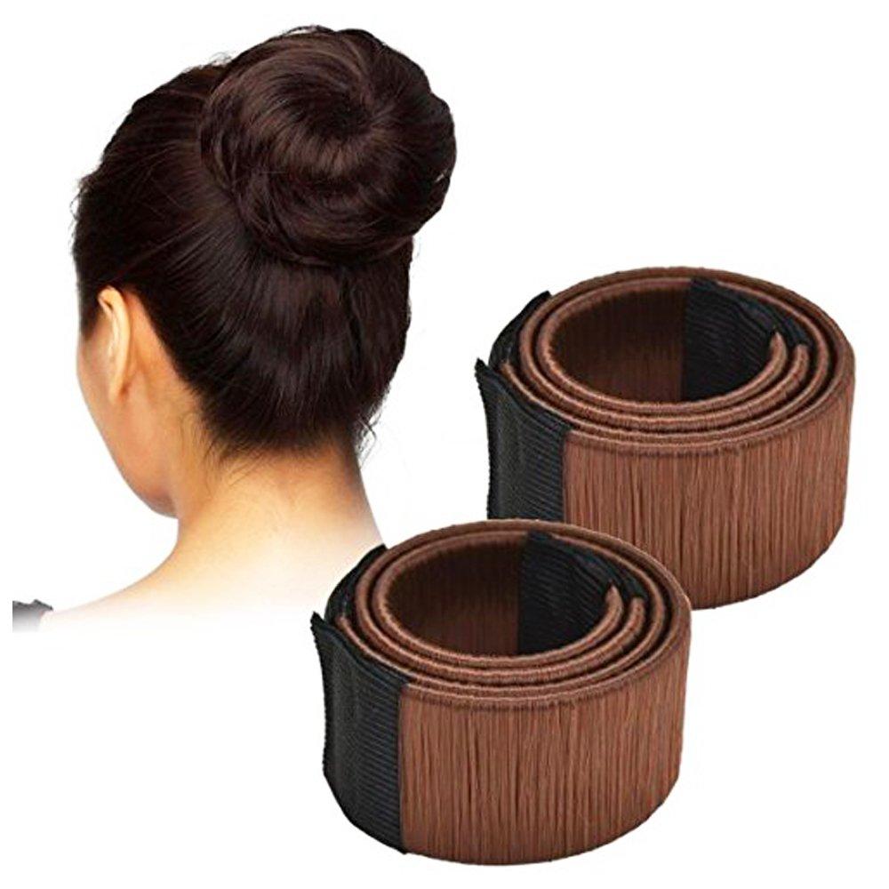 Grifri Bun Hair Maker, Magic Hair Styling Donut BrötMaker Donut Clip Former, Magic Former Foam Français