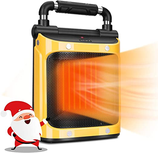 Indoor Heater Space Heater For Indoor Use 1500w Electric Heater With Adjustable Thermostat Tip Over Overheat Protection Room Heaters For Indoor Use Space Indoor Heater Portable Heater Amazon Ca Home Kitchen