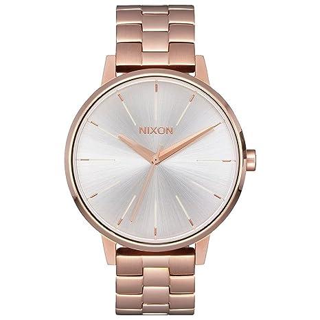 Nixon - Reloj de pulsera para mujer, color blanco