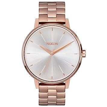Nixon Reloj Analogico para Mujer de Cuarzo con Correa en Acero Inoxidable A099-1045-00: Nixon: Amazon.es: Relojes