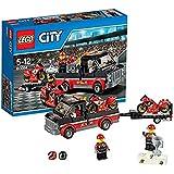 LEGO City - 60084 - Jeu De Construction - Le Transport De Motos De Course