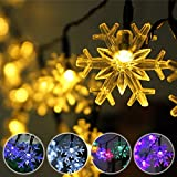 5M 20 LED Snowflake Bling Solar Fairy String - Best Reviews Guide