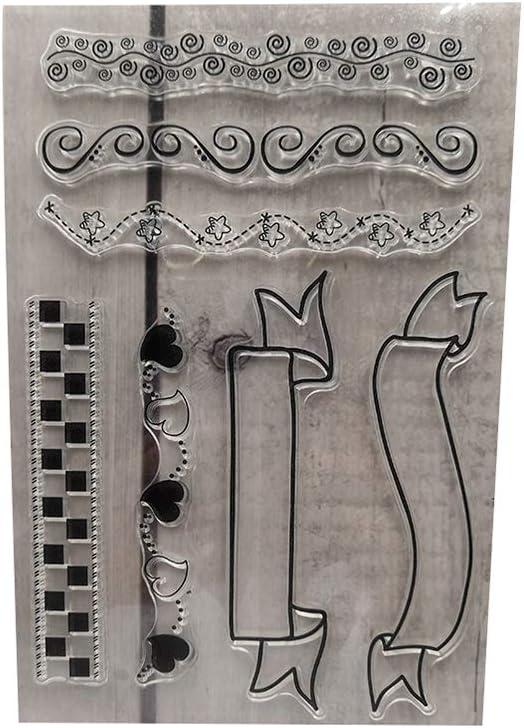 Hongma Klar Silikon Stempel Baum Haus Feder f/ür DIY Kunst Handwerk MEHRWEG A0097