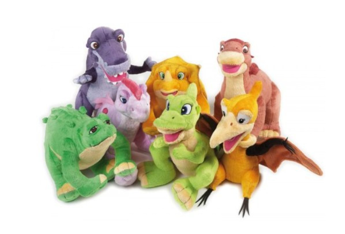 lelly 26 x 37 cm the land before time stuffed toy brown amazon