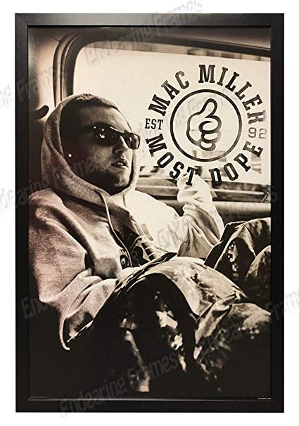 "6 MAC MILLER Poster Wall Print 24/"" x 36/"" inch"