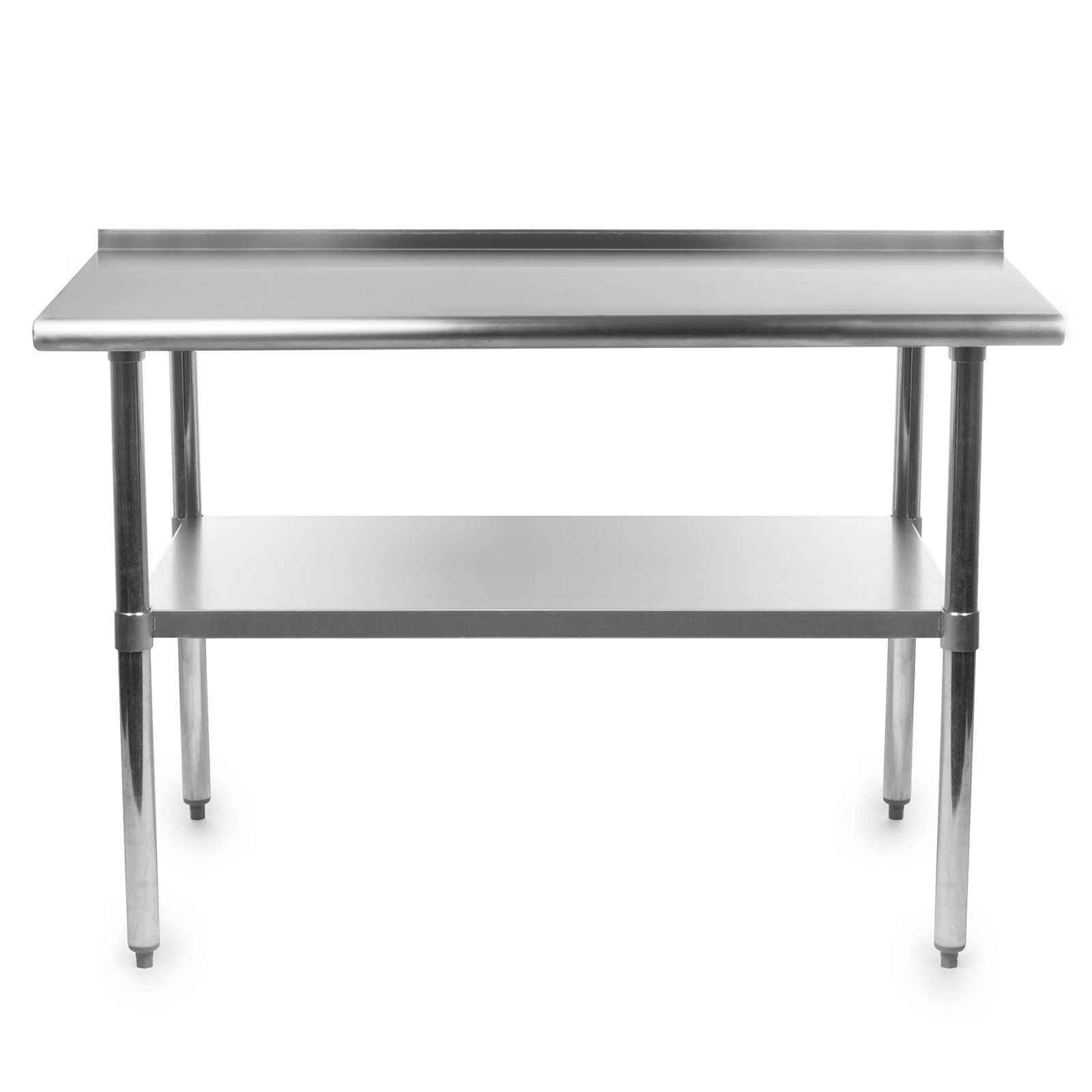 GRIDMANN NSF Stainless Steel Commercial Kitchen Prep & Work Table w/Backsplash - 72 in. x 24 in. by GRIDMANN (Image #2)