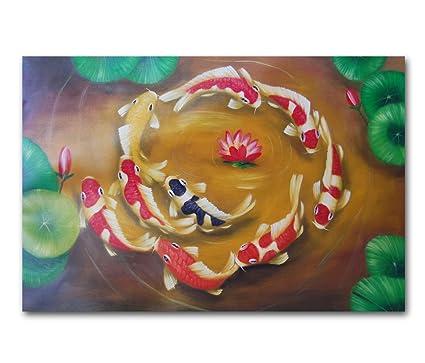 Modern Koi Fish Art