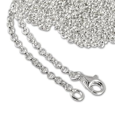 e8abb7245ef0 Plata Dream 925 plata de ley Charm Collar 100 cm Cadena para Charms Pulsera  Colgante fc00281 - 1  SilberDream  Amazon.es  Joyería