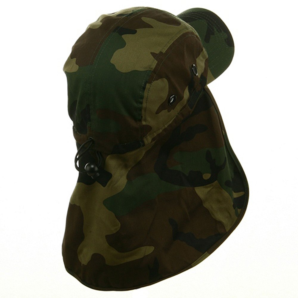 MG Flap Hat 03 -Camo W15S46D