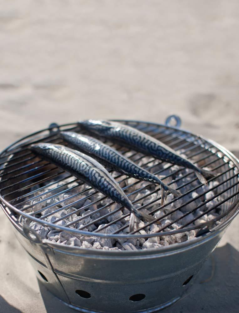 Garden Trading Rock Barbecue en Acier galvanis/é