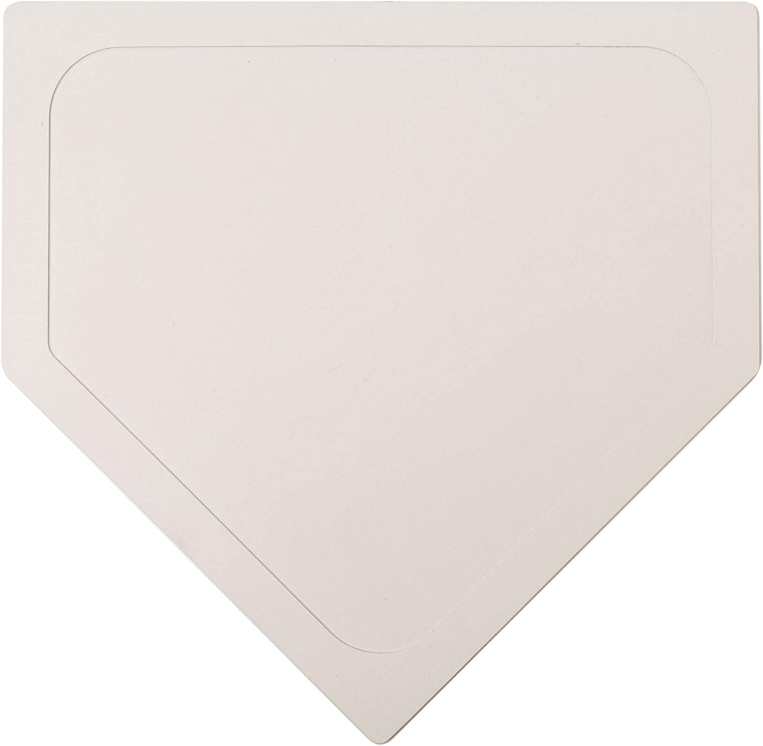 Throw Down Home Plate - Single Base for Little League, Babe Ruth Baseball and Kickball, Stickball - Great for Coaches, Gym Teachers, and Skill Camp Instructors - Physical Education
