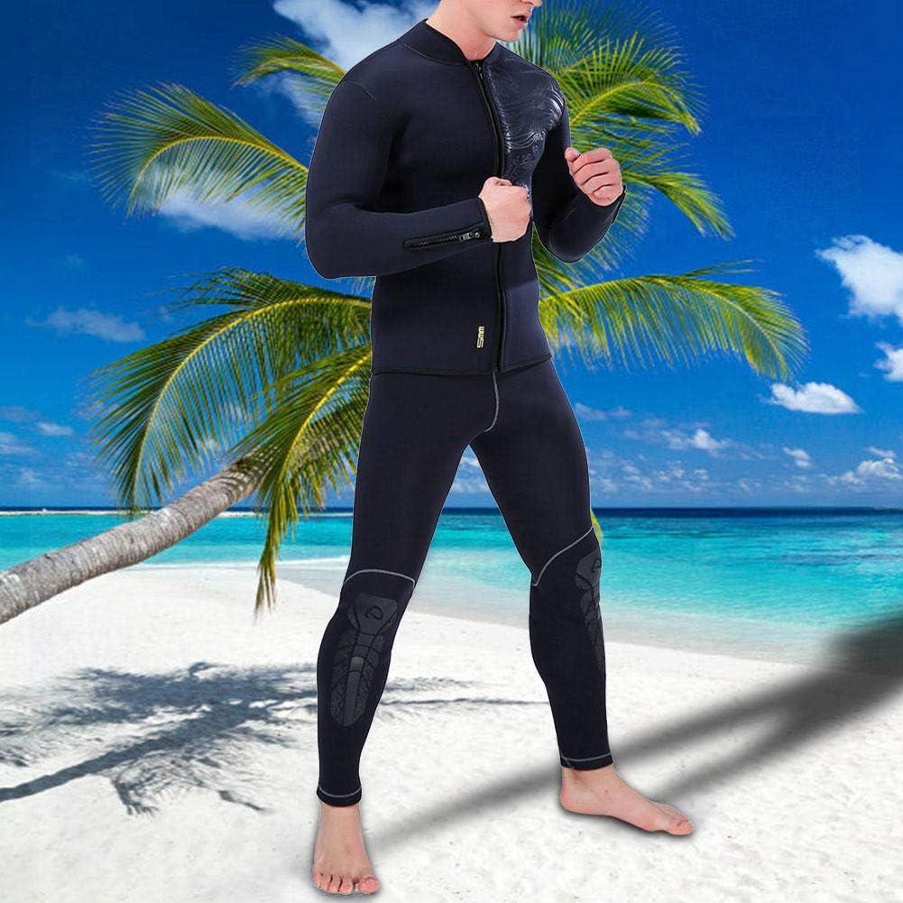 Tbest Neopren Neoprenanzug Top Jacke 5 MM Unisex Split Langarm Neoprenjacke Windsurfing Badebekleidung Warme Badeanzug Tops Tauchen Anzug Schwimmanzug f/ür Tauchen Schwimmen Schnorcheln Surfen
