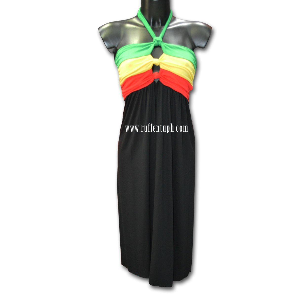 Ruffentuph Vestido de Noche Rasta de – Correa de Rasta Cuello para – 2 Styles en 1 – Talla única 4258f7