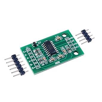 Generic FZ0728 HX711 Weighing Sensor Dual-Channel 24 Bit Precision A/D  Module Pressure Sensor Module: Amazon.in: Industrial & Scientific