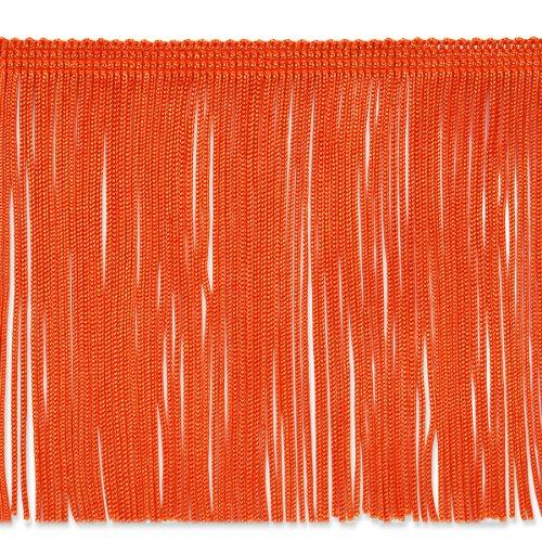 Expo International 20-Yard Chainette Fringe Trim, 6-Inch, Orange by Expo International Inc.