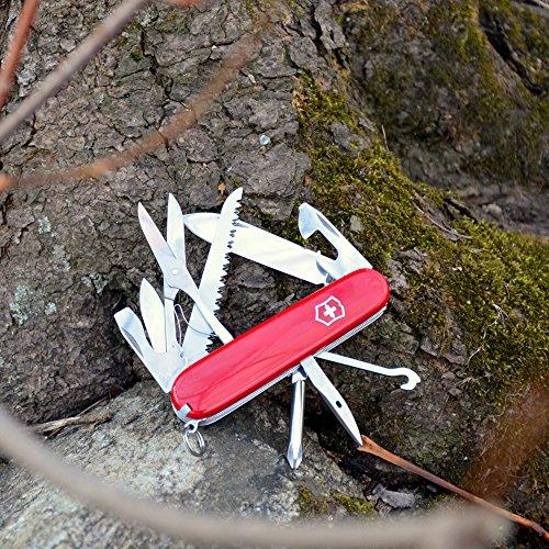 Victorinox Swiss Army Fieldmaster Pocket Knife Red 91mm