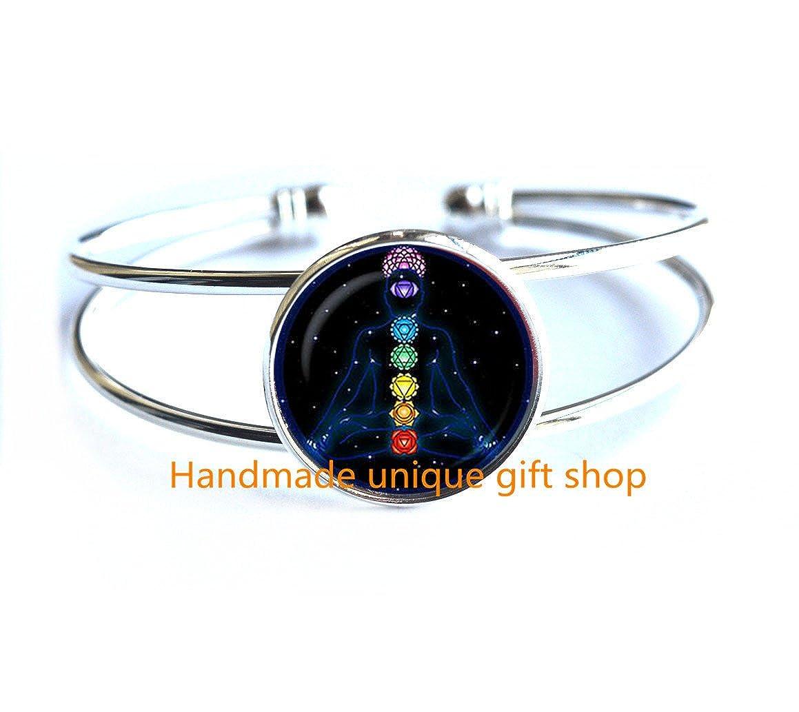 Modern Fashion Bracelet,Beautiful Bracelet Symbols Bracelets OM Spiritual Bracelet Yoga Jewelry Zen Meditation Bracelets-RC214