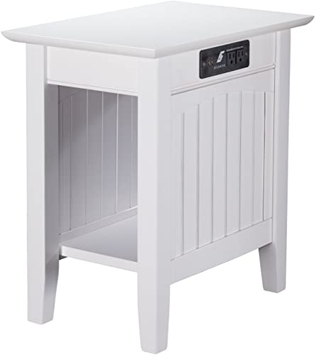 Atlantic Furniture Nantucket Chair Side Table - a good cheap living room table