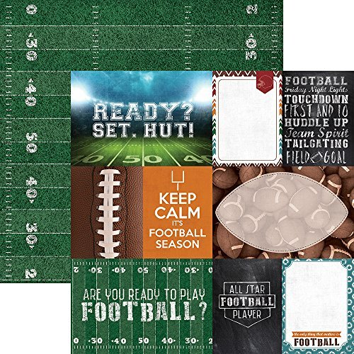 Paper House Productions P-2055E Tags Football Double-Sided Cardstock, 12 by 12, MultiFarbe (15 Pack) by Paper House Productions B01KB783LO | Große Auswahl