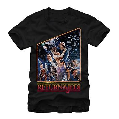 ff7e0a2a4bd Amazon.com  Star Wars Men s Return of The Jedi T-Shirt  Clothing