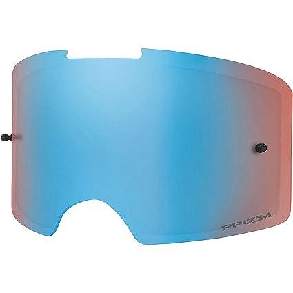 7e9ac293dbf Amazon.com  Oakley 102-516-003 Front Line MX PrzmMX SaphrIrid REPL  unisex-adult Goggle Replacement Lens