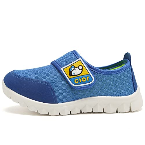 CIOR Kids Mesh Light Weight Sneakers Running Shoe For Boy's Girl's Footwear,Pink02,24