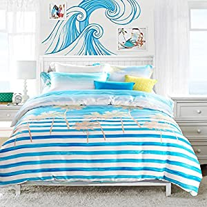61CtyLJZkAL._SS300_ 200+ Coastal Bedding Sets and Beach Bedding Sets