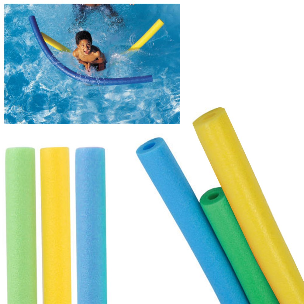 Amazon.com: 6 Swimming Foam Noodles Pool Float Floating Swim ...
