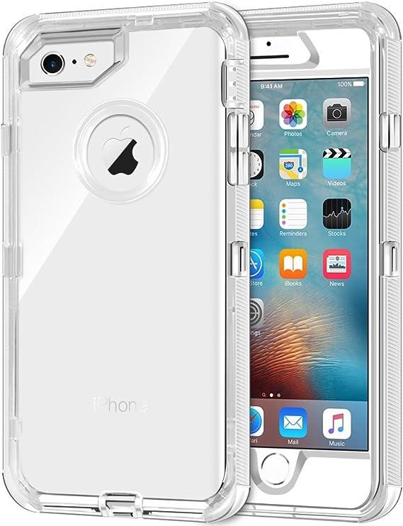 Funda Happy Plugs iPhone 6 Plus Transparente