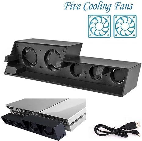 Enfriador de ventilador de refrigeración NOVPEAK PS4, USB ...