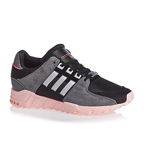 new concept f2aec 456ff Adidas Eqt Support Rf W Black Pink Sneakers - Scarpe Da Ginnastica Nere  Rosa  Amazon.it  Scarpe e borse