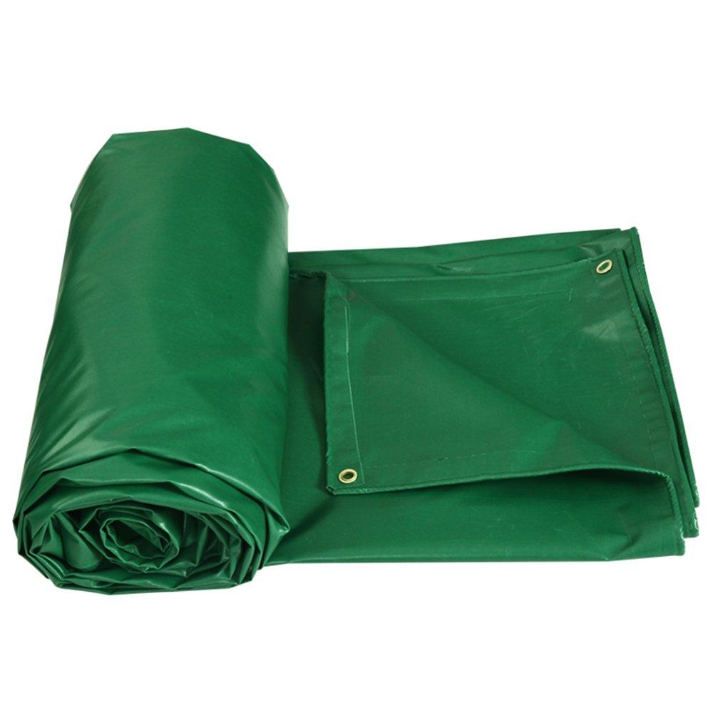 0.4ミリメートル防水シート/遮光布/防水日除け屋外キャンバス/厚い車のレインカバー/緑の両面レインクロス/オプションの雨の布の17種類 ( サイズ さいず : 6*8m ) B07CM8H6KW   6*8m