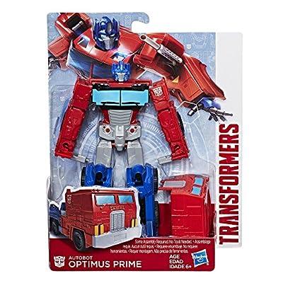 Transformers Authentics Optimus Prime: Toys & Games