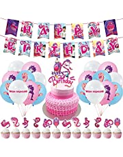 Wish Dragon Party Decorations Wish Dragon Birthday Party Supplies,Decorations for Wish Dragon Includes Cake Topper Cupcake Toppers,Banner,Ballons for Wish Dragon