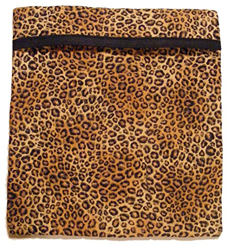 (Tater Accelerator Sewing Kit - Precut, Quick & Easy to Sew, Pre-Quilted Cotton Fabric & Batting for TWO Microwave Potato Baking Bags (Leopard))