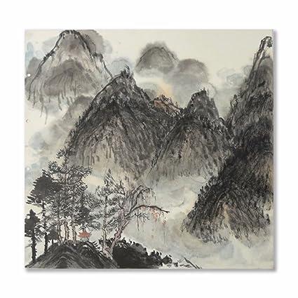 prints Asian landscape