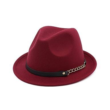 bc96979c Cotton Camel Hat for Woman Elegant Men Gentleman Godfather Wide Brim Trilby  Royal Top Cap Vintage Jazz Hats at Amazon Men's Clothing store: