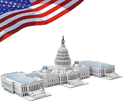 CubicFun Puzzle 3D Capitolio de Washington (CPA Toy Group Trading S.L. MC074): Amazon.es: Juguetes y juegos