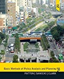 img - for Basic Methods of Policy Analysis and Planning by Patton, Carl, Sawicki, David, Clark, Jennifer(February 29, 2012) Paperback book / textbook / text book