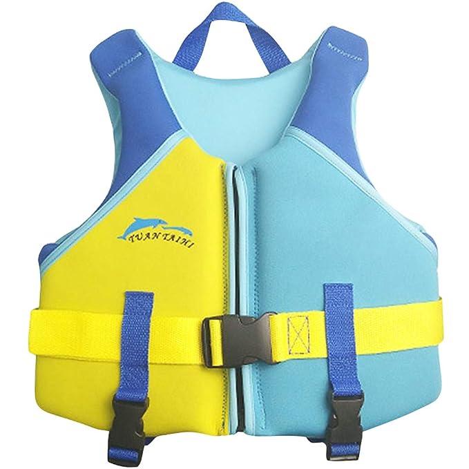 Hony Niños Chaleco Flotante Aprender a Nadar Flotador Ajustable Bebé Traje de Chaleco Natación Traje de