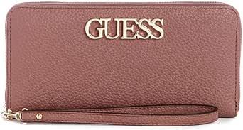Guess Zip around Wallet for Women, Mocha, VG730146