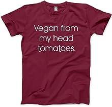 Vegan from My Head Tomatoes - Unisex T-Shirt