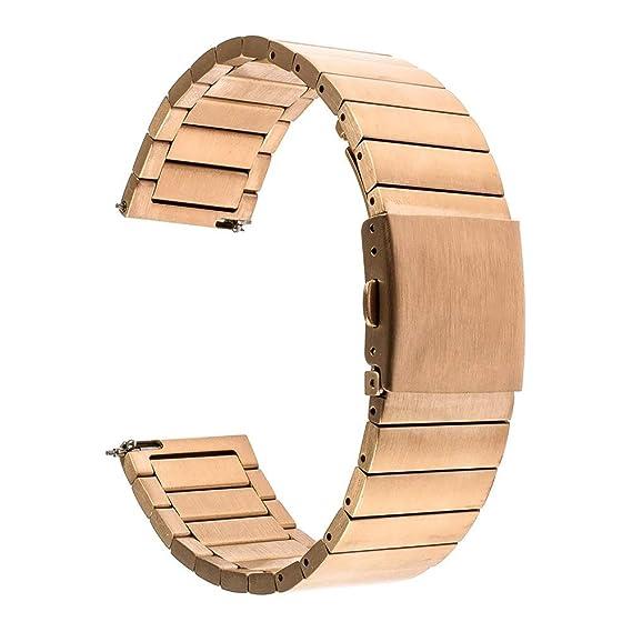 Jewh Quick Release Watchband for LG G Watch - Urbane Asus Zenwatch 1 2 - Men