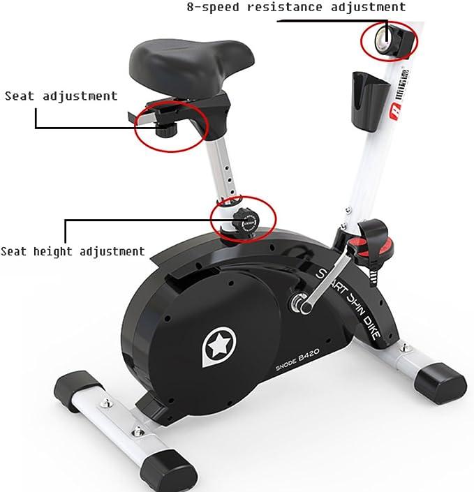 A-SSJ Bicicletas Estáticas y de Spinning Casa Bicicleta de ...