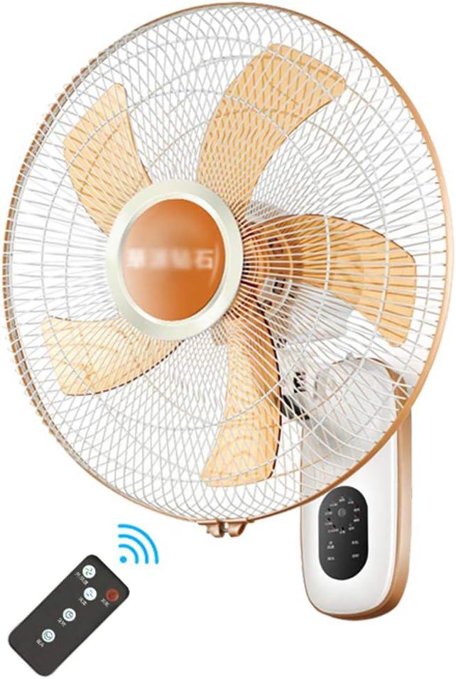 Ventilador genial Ventilador montado en la pared,sincronización 7.5H SD-79C0 | con control remoto | 12.5 / 16.5 pulgadas | blanco silencioso | ventilador de pared en casa | para la oficina del resta