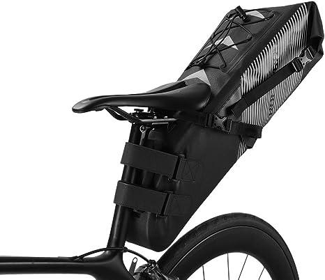 ROCKBROS Bolsa para Sillín de Bicicleta Alforjas Impermeable de ...