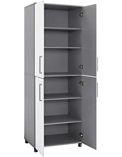 Ameriwood Home 7470403COM Latitude Tall Cabinet Systembuild, White