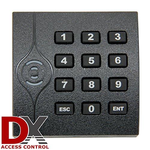 Keypad Proximity Access Control Card Reader - Indoor/Outdoor - 125MHz - Textured