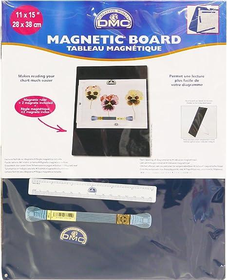 Dmc magnetic board small metal white 31 5 x 0 6 x 39 2 cm amazon