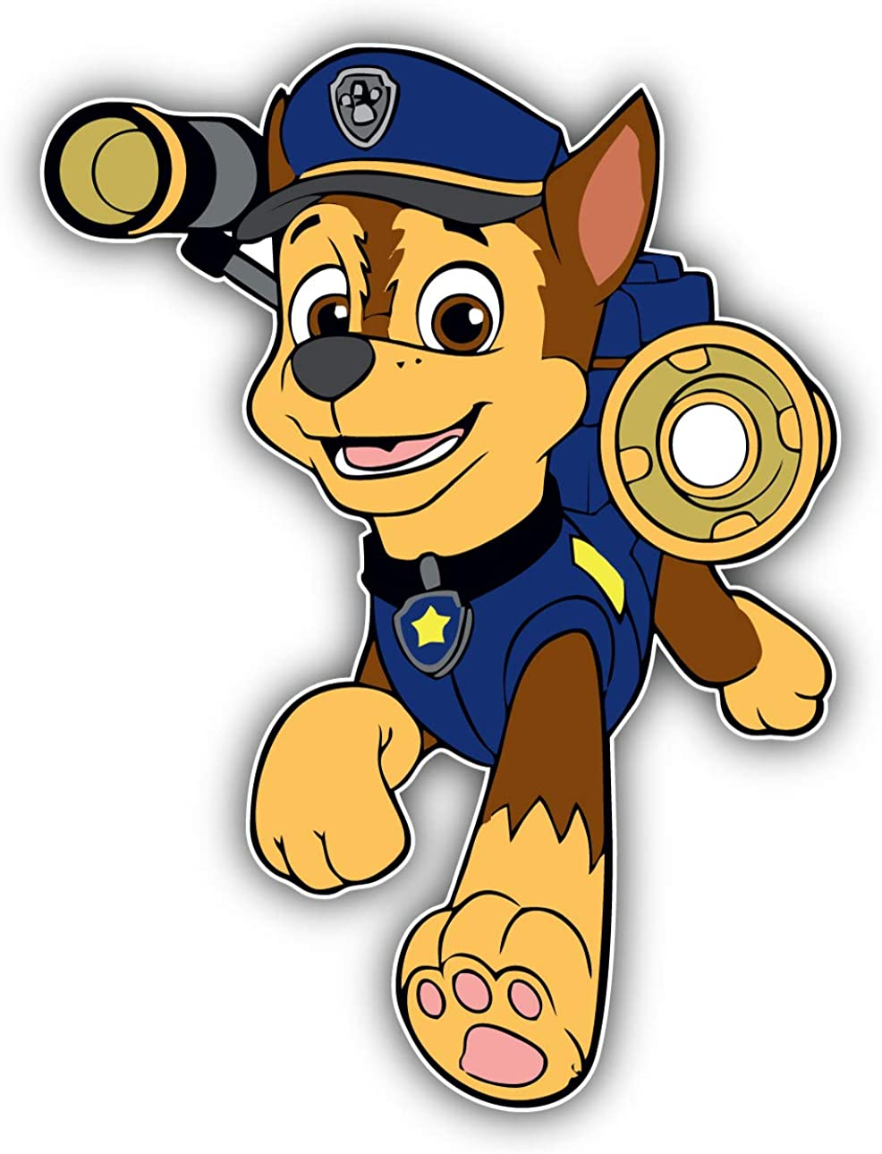 Valstick Paw Patrol Cartoon Marshall Car Bumper Sticker Decal